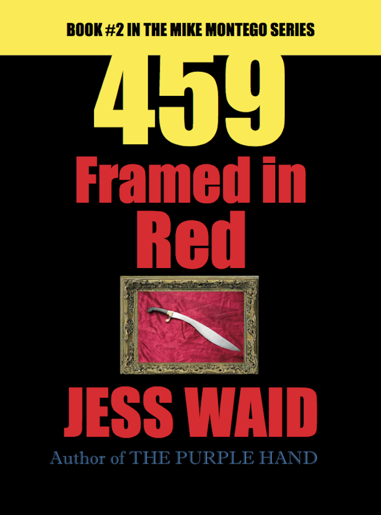 459-Framed in Red (Book #2 in the Mike Montego Series) Image